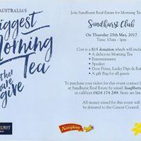 Australias Biggest Morning Tea - Sandhurst Club
