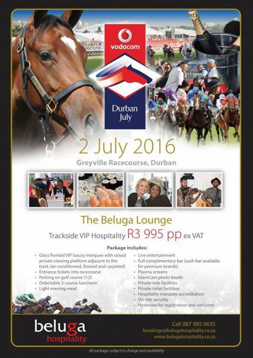 Vodacom Durban July 2016 At Greyville Race Course Durban