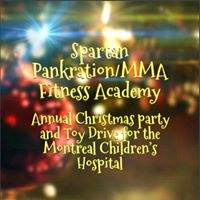 Annual Christmas Party and Toy Drive for the Montreal Childrens Hospital