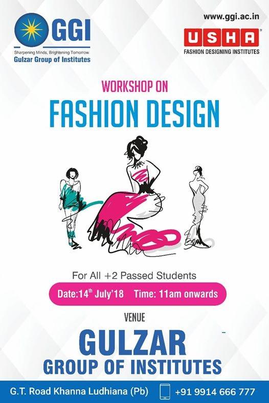 Ggi Fashion Designing Workshop At Ggi Gulzar Group Of Institutes Ludhiana