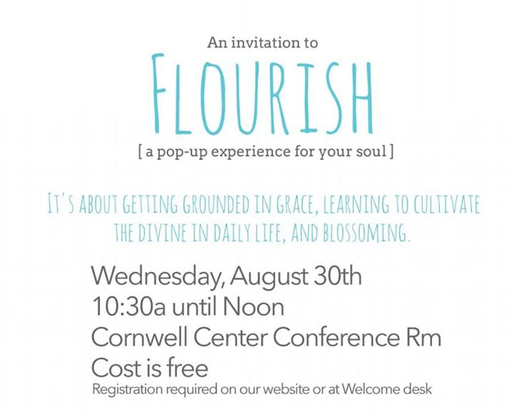 Flourish a pop-up experience for your soul