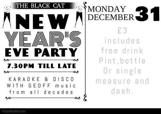 New Years Eve at The Black Cat