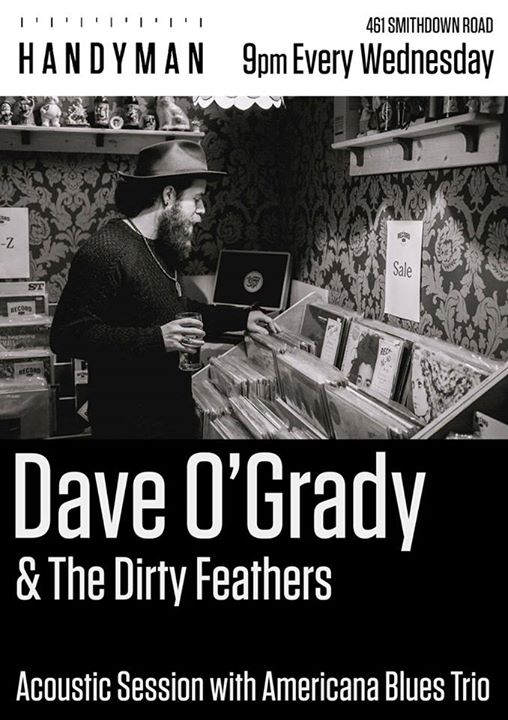 Dave OGrady & The Dirty Feathers at Handyman Brewery, Liverpool