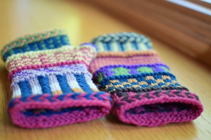 Fair Isle Fingerless Mitts Workshop with Susan B. Anderson at ...