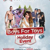 Boys For Toys Holiday Charity Event