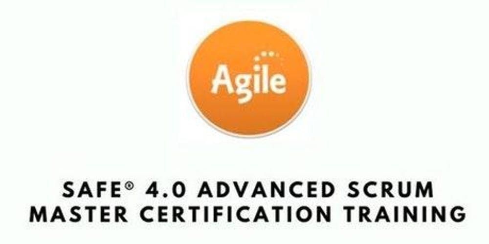 SAFe 4.0 Advanced Scrum Master with SASM Certification Training in Cincinnati OH on Mar 12th-13th 2019