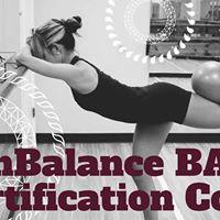 InBalance BARRE Instructor Certification Course