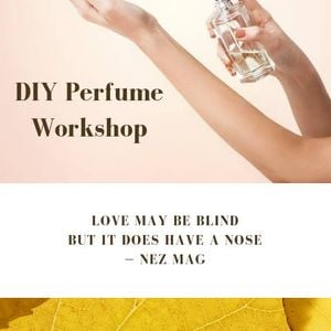 DIY Perfume Workshop in time for Mothers Day