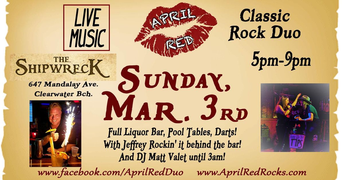 April Red LIVE at The Shipwreck on Clearwater Beach