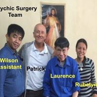 Group trip to receive psychic surgery treatments from Laurence