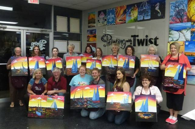 Painting with a purpose tallahassee for Painting with a twist macon ga