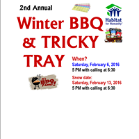 2nd Annual Winter BBQ and Tricky Tray