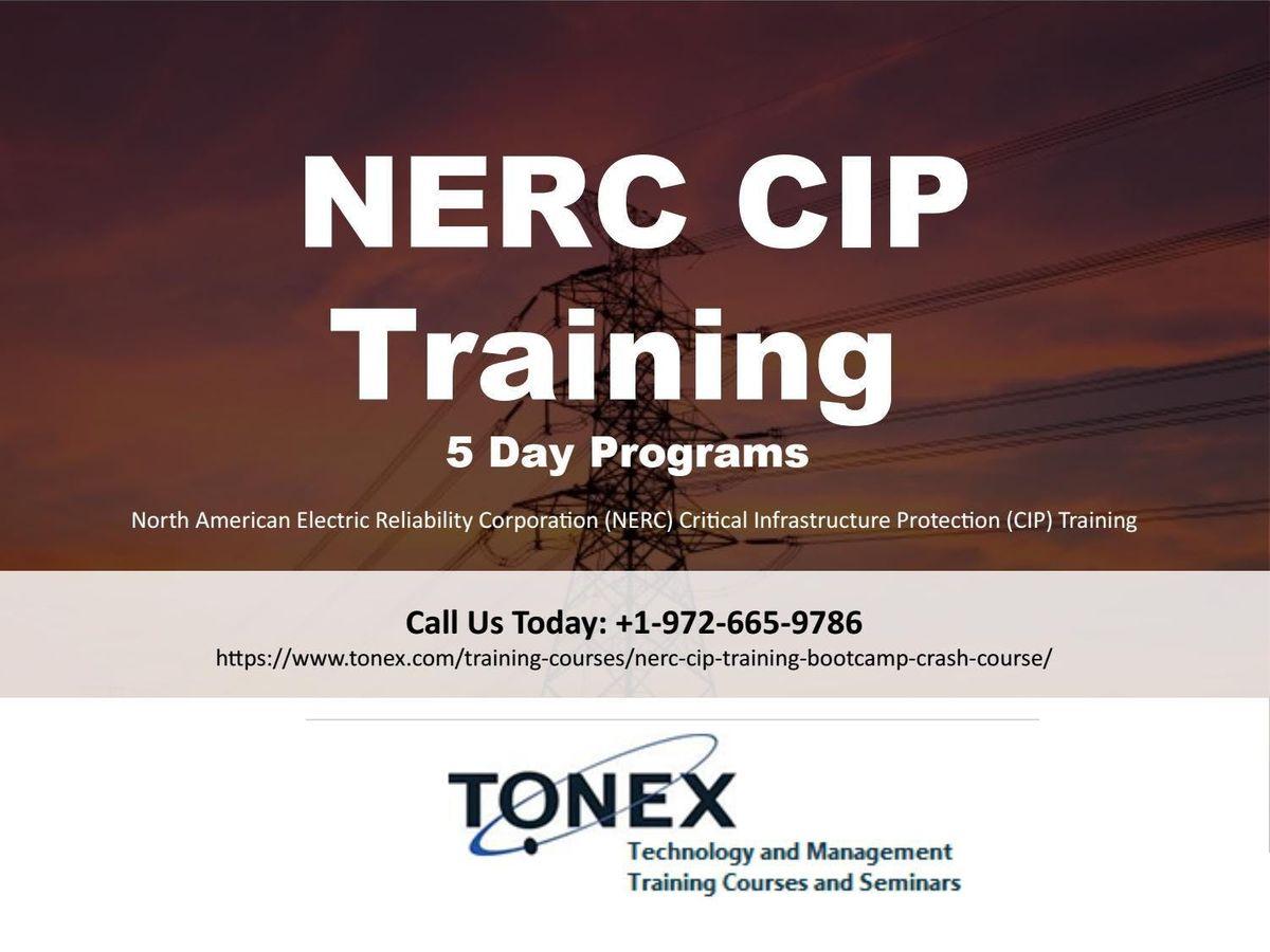 NERC CIP Training Bootcamp  Crash Course