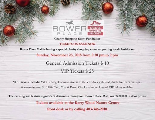 Red & White Night at Bower Place Shopping Centre