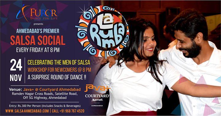 La Rumba - Celebrating Men Of Salsa - Furors Friday Social
