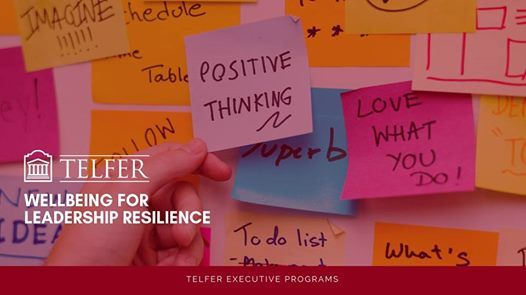 Wellbeing for Leadership Resilience