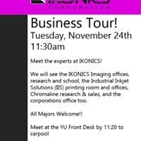 Ikonics Corporation Business Tour