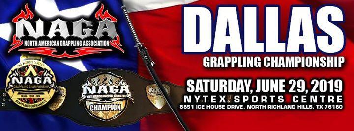 2019 NAGA Dallas Grappling Championship at NYTEX Sports Centre, Hurst