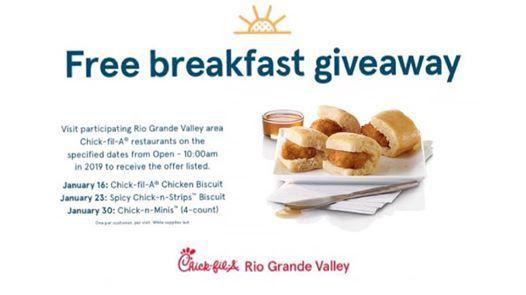 Free Breakfast Giveaway