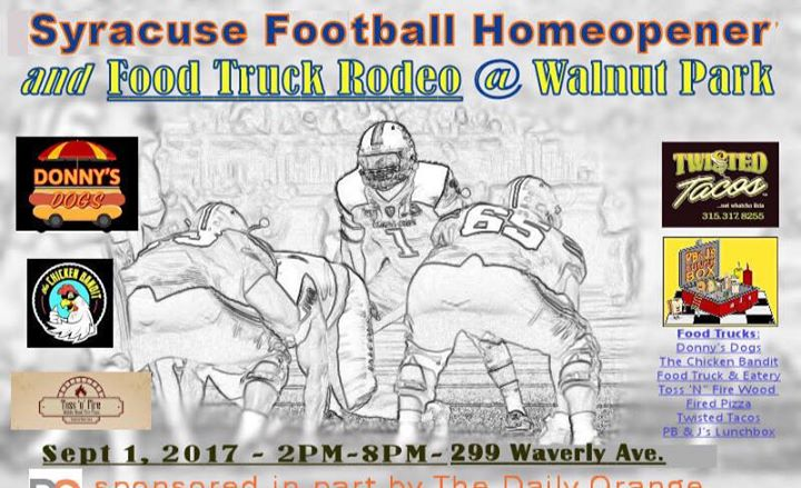 2017 Syracuse Football Home Opener And Food Truck Rodeo At Syracuse