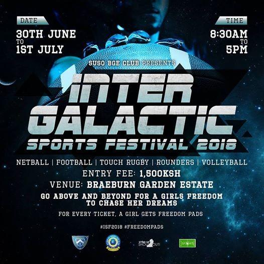 Intergalactic Sports Festival 2018