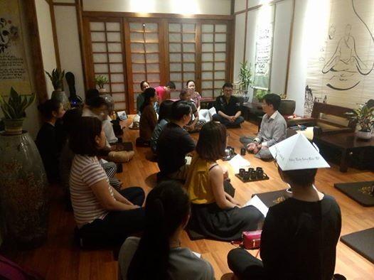 Khai giảng lớp khoa học thiền định khóa mới tại 14B Kỳ Đồng at PSSA Việt  Nam, Ho Chi Minh City