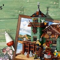 Meet and greet LEGO Ideas fan designer of the Old Fishing Store
