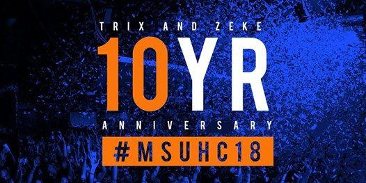 MSU Homecoming 2018 & Trix and Zeke 10 Year Anniversary