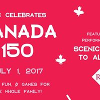 RGC Celebrates Canada 150 w guests Scenic Route to Alaska