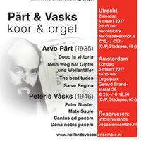 Concert Prt en Vasks