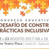Congreso &quotEl desafo de construir prcticas inclusivas&quot