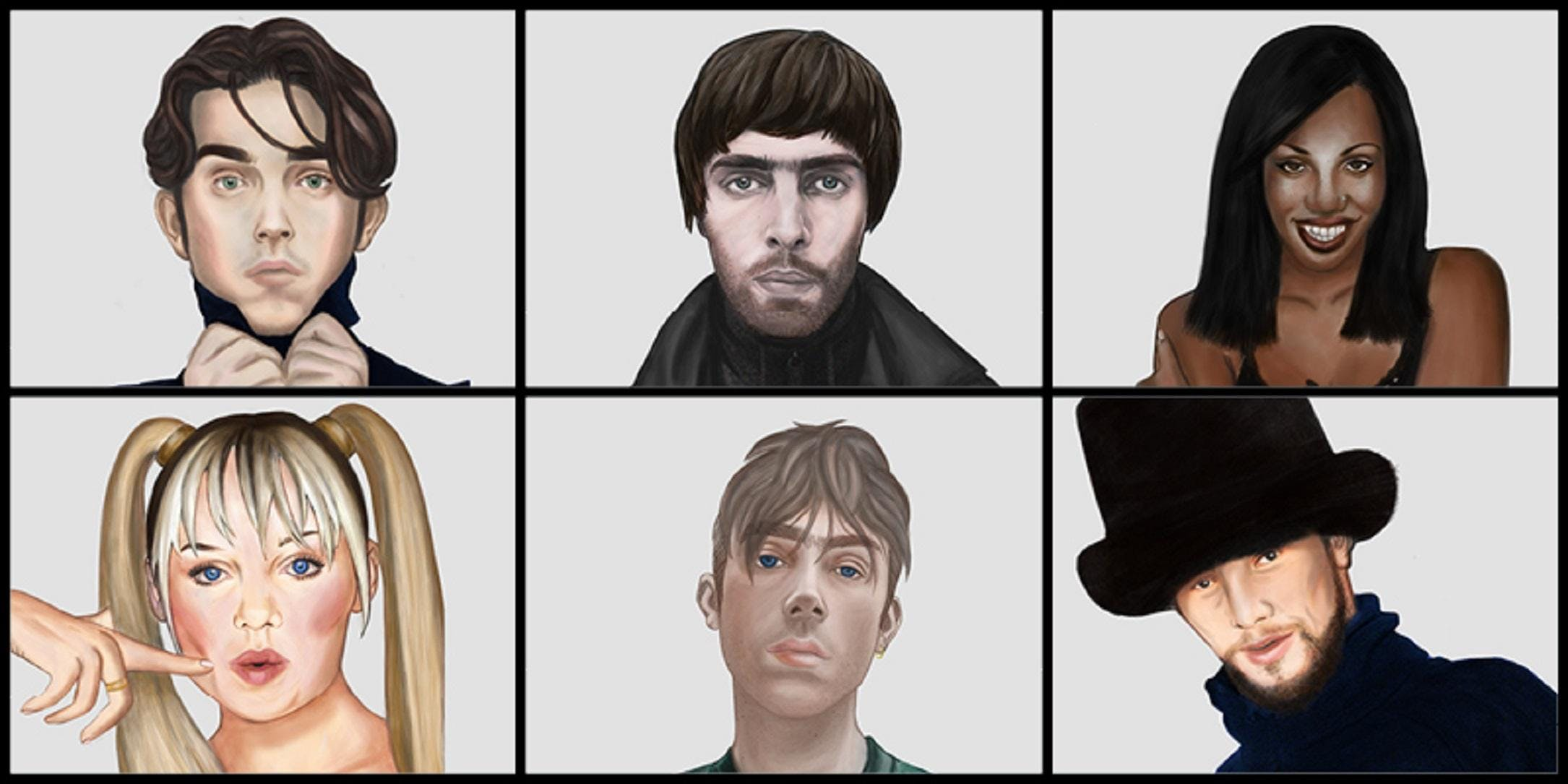 Dont Look Back In Anger - An Exhibition of 90s British Music & Art