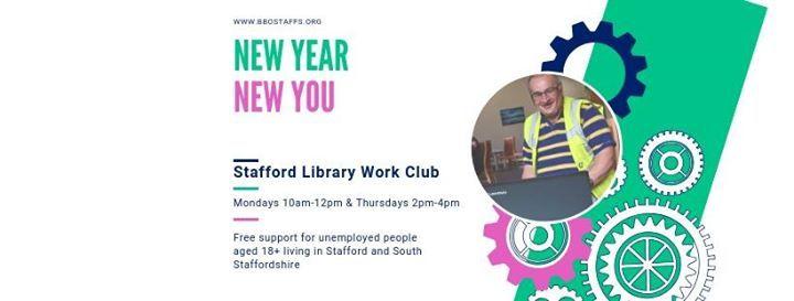 Stafford Library Work Club