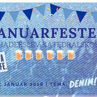 Januarfest p HaKa - kunstner og denimtema
