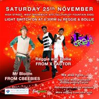 West Bromwich Christmas Lights Switch On