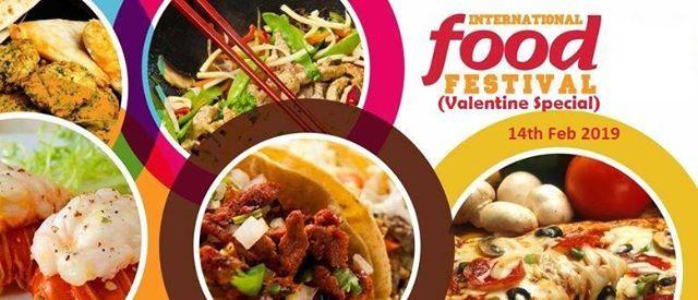 Internationall Food Festival (Valentine Special)