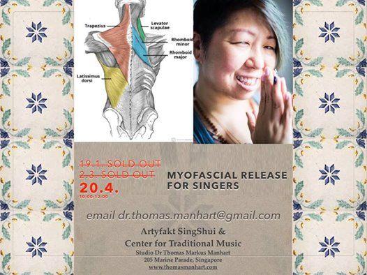 Myofascial Release for singers