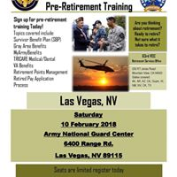 Nevada National Guard Pre Retirement Training