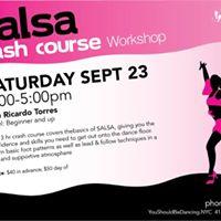 Salsa Crash Course with Ricardo Torres