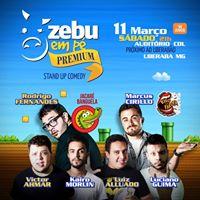 Zebu em P Premium com Jacar Banguela e Marcus Cirillo