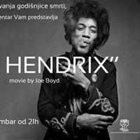 Projekcija filma &quotJimi Hendrix&quot
