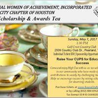 2017 Scholarship &amp Awards Tea
