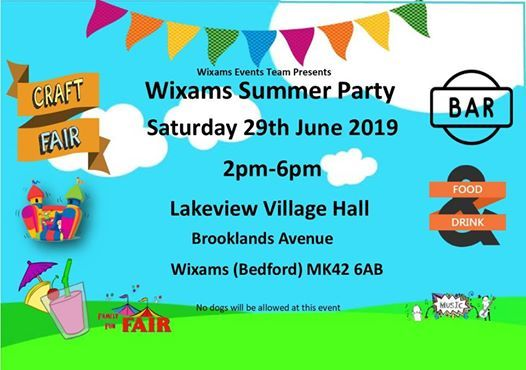 Wixams Summer Party 2019