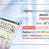 Digital Marketing Overview on SEO Blog &amp Facebook