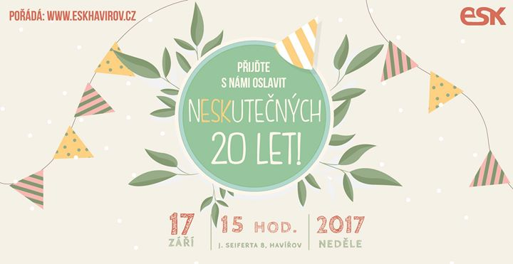 oslava 20 narozenin Oslava 20. narozenin církve ESK! at ESK Havířov, Havířov oslava 20 narozenin