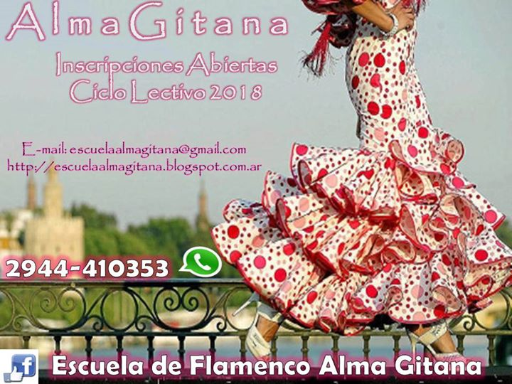 Alma Gitana Clases 2018
