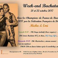 WE Bachata avec les Champions de France 2017 de la FFD