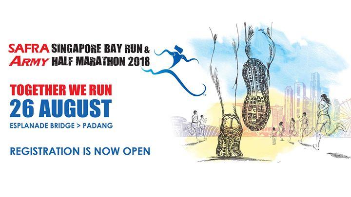 SAFRA Singapore Bay Run & Army Half Marathon 2018