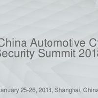 3rd China Automotive Cyber Security Summit 2018