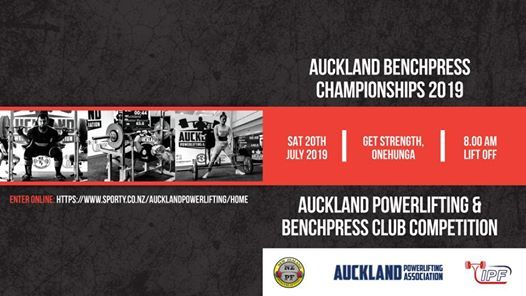 Auckland Benchpress Championships & Power L BP Club Comp 19